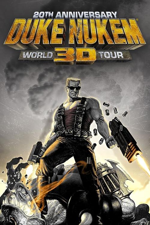 Cover for Duke Nukem 3D: 20th Anniversary World Tour.