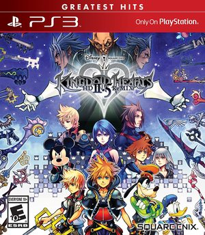 Cover for Kingdom Hearts HD 2.5 Remix.