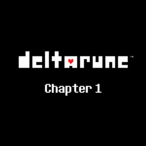 Cover for Deltarune: Chapter 1.