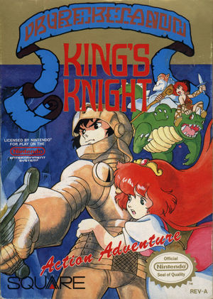 Cover for King's Knight.