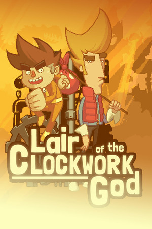 Cover for Lair of the Clockwork God.