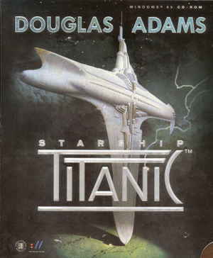 Cover for Starship Titanic.