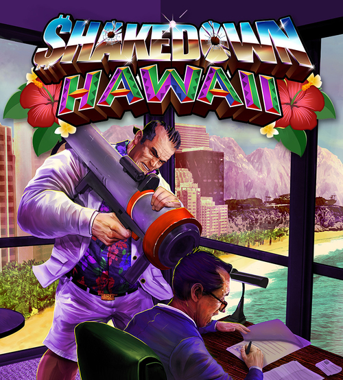 Cover for Shakedown Hawaii.