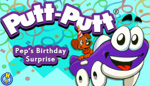Cover for Putt-Putt: Pep's Birthday Surprise.