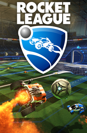 Cover for Rocket League.