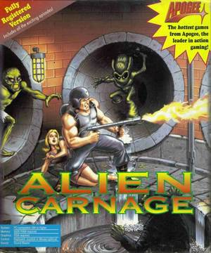 Cover for Alien Carnage.