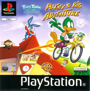 Cover for Tiny Toon Adventures: Plucky's Big Adventure.