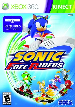 Cover for Sonic Free Riders.