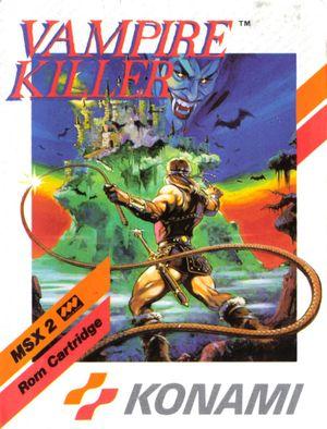 Cover for Vampire Killer.