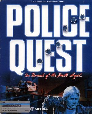 Cover for Police Quest: In Pursuit of the Death Angel.