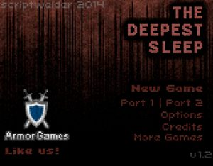 Cover for The Deepest Sleep.