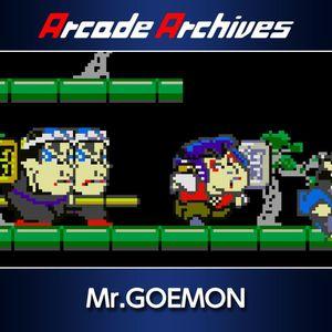 Cover for Mr. Goemon.