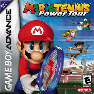Cover for Mario Tennis: Power Tour.