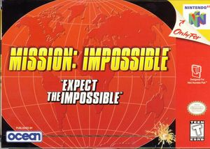 Cover for Mission: Impossible.