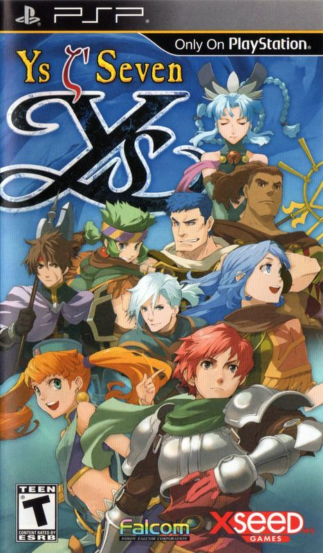 Cover for Ys Seven.