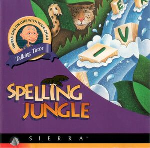 Cover for Spelling Jungle.
