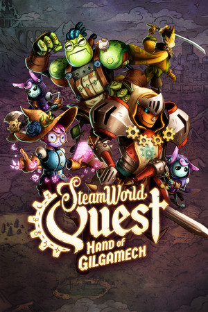 Cover for SteamWorld Quest.