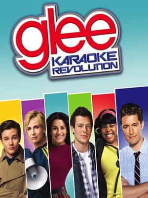 Cover for Karaoke Revolution Glee: Volume 2.