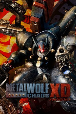Cover for Metal Wolf Chaos.
