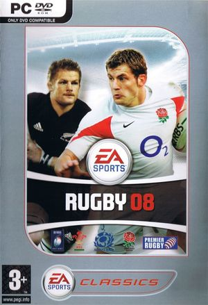 Cover for Rugby 08.