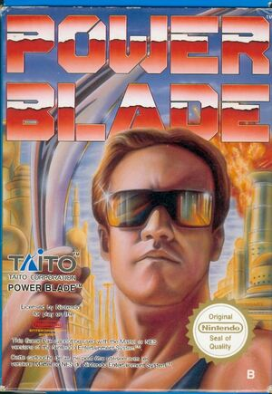 Cover for Power Blade.