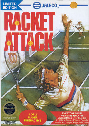 Cover for Racket Attack.