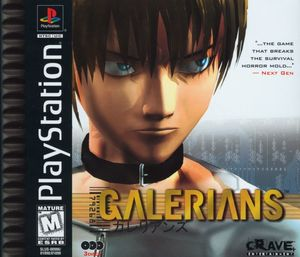 Cover for Galerians.