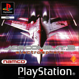 Cover for Ace Combat 3.