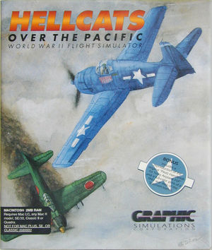 Cover for Hellcats over the Pacific.