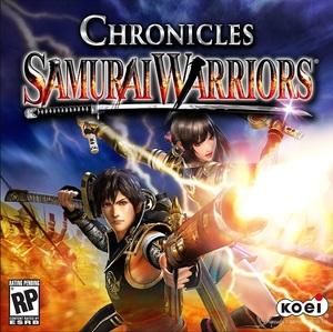 Cover for Samurai Warriors: Chronicles.
