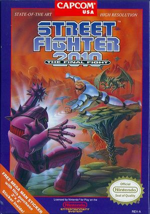 Cover for Street Fighter 2010: The Final Fight.