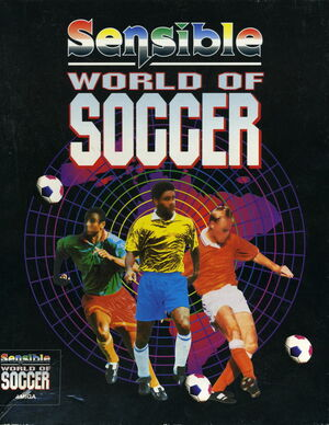 Cover for Sensible World of Soccer.