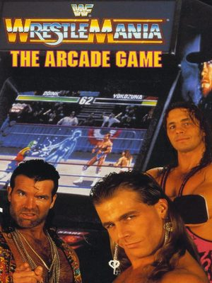 Cover for WWF WrestleMania: The Arcade Game.