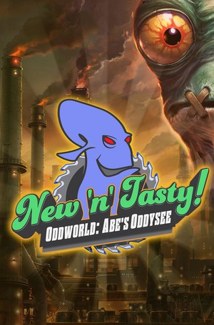 Cover for Oddworld: Abe's Oddysee New N' Tasty!.