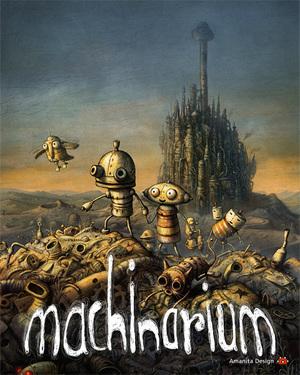 Cover for Machinarium.