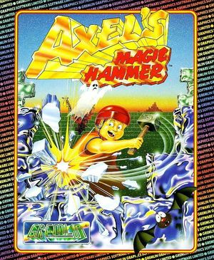 Cover for Axel's Magic Hammer.
