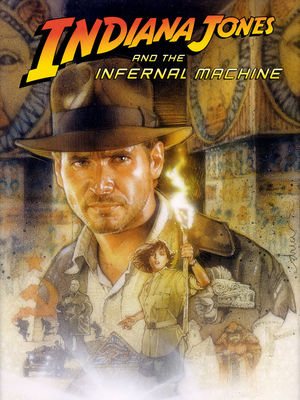Cover for Indiana Jones and the Infernal Machine.