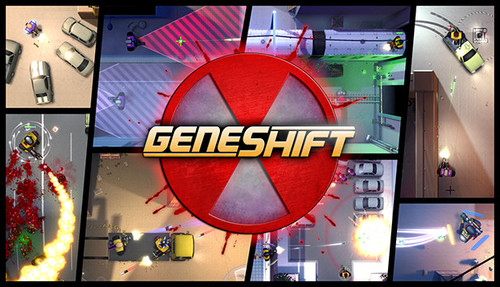 Cover for Geneshift.