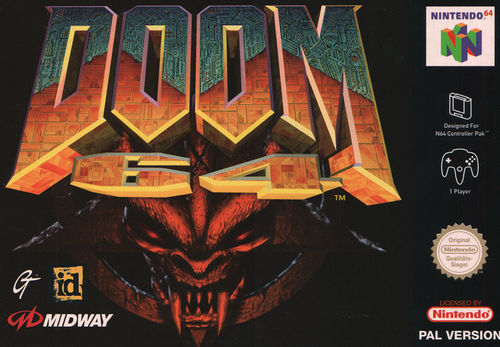 Cover for Doom 64.