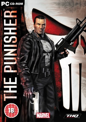 Cover for The Punisher.