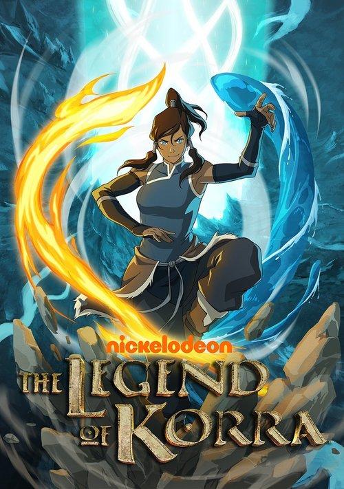 Cover for The Legend of Korra.