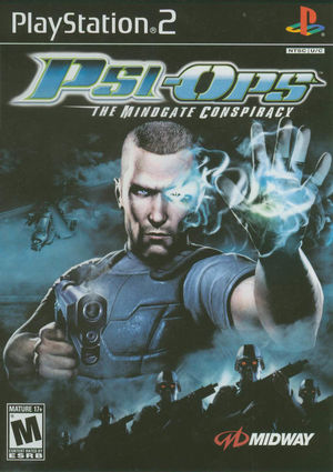 Cover for Psi-Ops: The Mindgate Conspiracy.