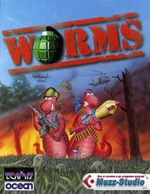 Cover for Worms.