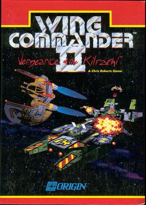 Cover for Wing Commander II: Vengeance of the Kilrathi.