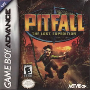 Cover for Pitfall: The Lost Expedition.