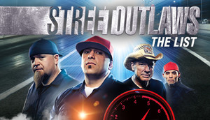 Cover for Street Outlaws: The List.
