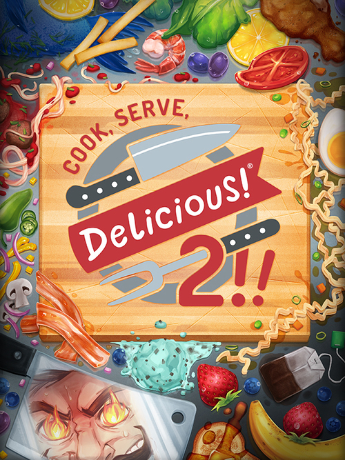 Cover for Cook, Serve, Delicious! 2.