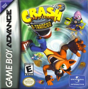 Cover for Crash Bandicoot 2: N-Tranced.