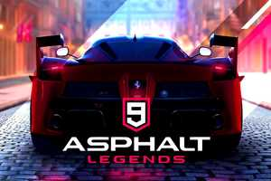 Cover for Asphalt 9: Legends.