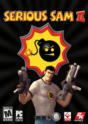 Cover for Serious Sam 2.